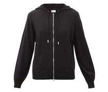 Marla Zipped Wool Hooded Sweater