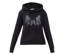 X Jess Rotter Gothic-print Hooded Sweatshirt