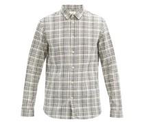 Storm Checked Cotton-blend Shirt