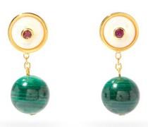 Yolo Malachite Earrings