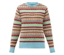 Gene Fair Isle Wool Sweater