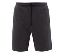 Devon Drawstring Cotton-jersey Shorts