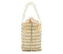 Melanie Faux-pearl And Crystal-embellished Bag