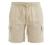 Baie Linen Bermuda Shorts