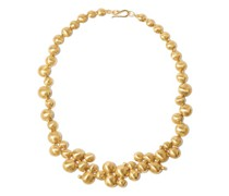 Galaxy Of Stars Gold-plated Necklace