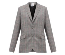 Fidji Tailored Single-breasted Wool Jacket