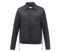 Quilted-nylon Jacket