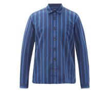 Ellington Striped Cotton-blend Shirt