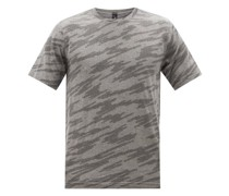Metal Vent 2.0 Printed Silverescent®-mesh T-shirt
