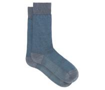 Tewkesbury Birdseye-knit Socks