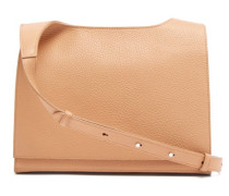 Messenger Grained-leather Cross-body Bag