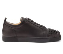 Louis Junior Spike-embellished Leather Trainers