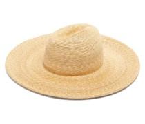 Twin Peaks Straw Fedora Hat