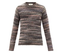 Marbled Space-dye Knit Sweater