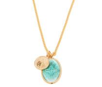 Dove Pendant Gold-vermeil Chain Necklace