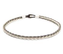 Nexus Rhodium-plated Sterling-silver Bracelet