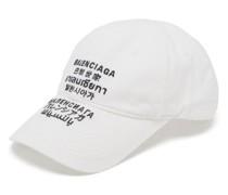 Languages Logo-embroidered Cotton Cap