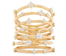 Troupe Diamond & 18kt Gold Ring