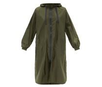 Grazia Hooded Waterproof-shell Rain Jacket