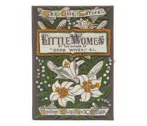 Little Women Embroidered Book Clutch
