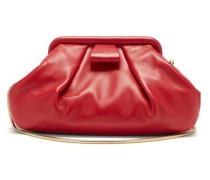 Mini Gathered Leather Cross-body Bag
