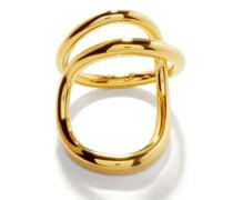 Ribbon 18kt Gold-vermeil Ring