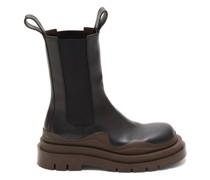 Bv Tire Chunky-sole Leather Chelsea Boots