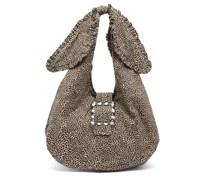 Ellery Leopard-print Canvas Shoulder Bag