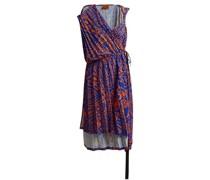 Asymmetric Pleated Midi Dress