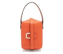 Tric Trac Saffiano-leather Bag