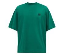 Logo-embroidered Organic Cotton-jersey T-shirt