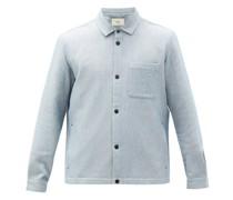 Orb Cotton-twill Overshirt