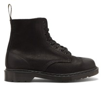 1460 Pascal Pebbled-leather Boots