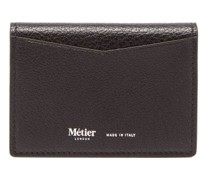 Multi Card Grained-leather Cardholder