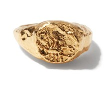 Scorpio 24kt Gold-plated Zodiac Ring