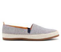 Striped Linen Espadrilles
