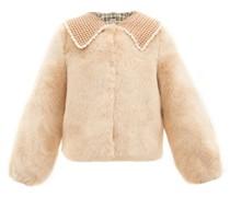 Ralph Crochet-collar Faux-fur Jacket