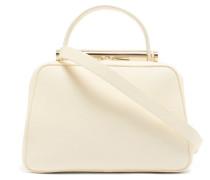 X Michael A Flute Medium Grained-leather Handbag