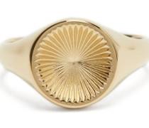 Solar 18kt Gold-vermeil Signet Ring