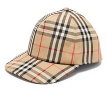 Vintage Check Logo-appliqué Baseball Cap