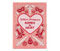 Romeo & Juliet Embroidered Book Clutch Bag
