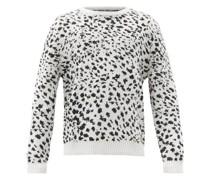 Galaxy Speckle-jacquard Sweater