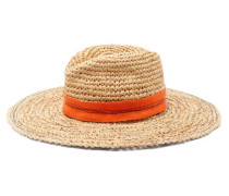 Mama Tarboush Raffia Wide-brim Fedora Hat