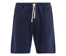 Weston Striped Organic-cotton Jersey Shorts