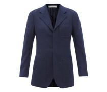 Single-breasted Cashmere Jacket