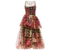Kelman Polka-dot And Floral-print Tulle Dress