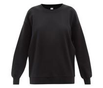 Perfectly Oversized Cotton-terry Sweatshirt