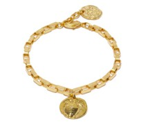 Turtle Coin 24kt Gold-plated Anklet