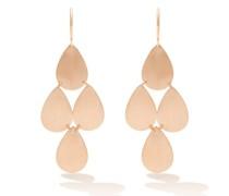 18kt Rose-gold Chandelier Earrings