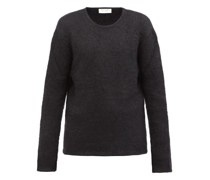 Crew-neck Mohair-blend Sweater
